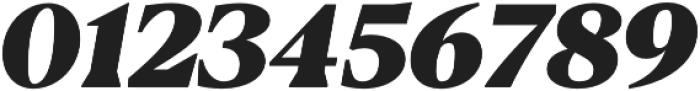 Blacker Text Heavy Italic otf (800) Font OTHER CHARS