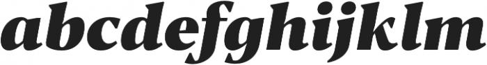 Blacker Text Heavy Italic otf (800) Font LOWERCASE