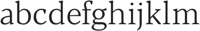 Blacker Text Light otf (300) Font LOWERCASE