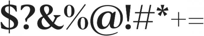 Blacker Text Medium otf (500) Font OTHER CHARS