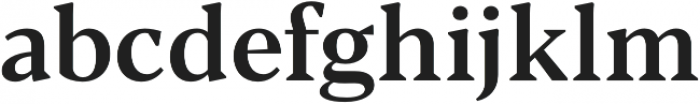 Blacker Text Medium otf (500) Font LOWERCASE