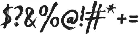 Blackflower Regular otf (900) Font OTHER CHARS