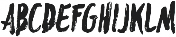 Blackflower Regular otf (900) Font UPPERCASE