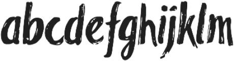 Blackflower Regular otf (900) Font LOWERCASE