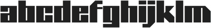 Blackheath Pro AOE otf (900) Font LOWERCASE
