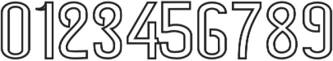 Blackjack 2 otf (900) Font OTHER CHARS