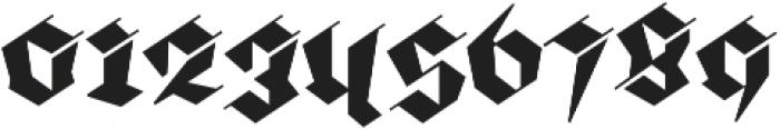 BlackmoonFY otf (900) Font OTHER CHARS