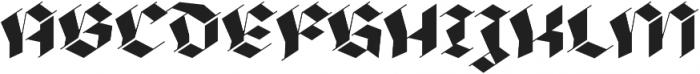 BlackmoonFY otf (900) Font UPPERCASE