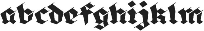 BlackmoonFY otf (900) Font LOWERCASE
