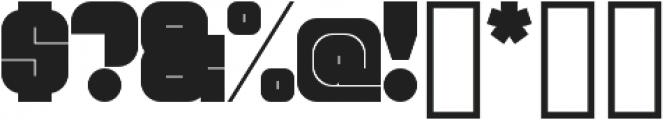 Blackout Sans otf (900) Font OTHER CHARS
