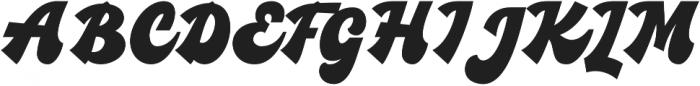 Blacks otf (900) Font UPPERCASE