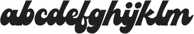 Blacks otf (900) Font LOWERCASE
