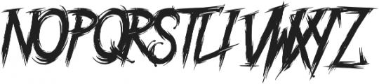 Blackstairs otf (900) Font UPPERCASE
