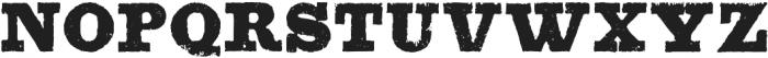Blackstock otf (900) Font UPPERCASE