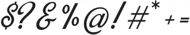 Blackstone Script otf (900) Font OTHER CHARS