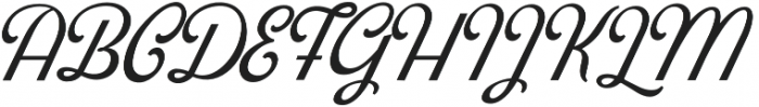 Blackstone Script otf (900) Font UPPERCASE