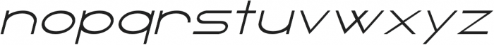 Blacktie Extra Expanded otf (900) Font LOWERCASE