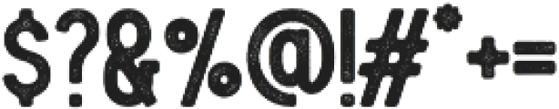 Blackwood Bold Rough otf (700) Font OTHER CHARS