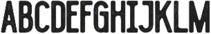 Blackwood Bold Rough otf (700) Font UPPERCASE