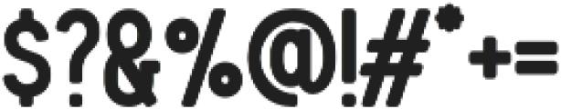Blackwood Bold otf (700) Font OTHER CHARS
