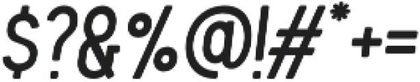 Blackwood Italic otf (900) Font OTHER CHARS