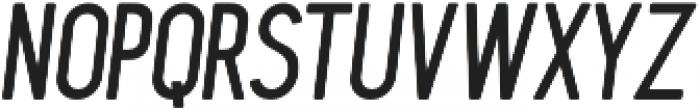 Blackwood Italic otf (900) Font UPPERCASE