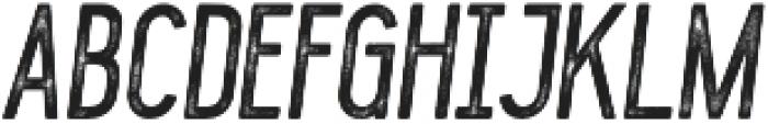 Blackwood rough Italic otf (900) Font UPPERCASE