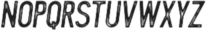 Blackwood rough Italic otf (900) Font LOWERCASE