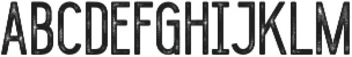 Blackwood rough otf (900) Font UPPERCASE