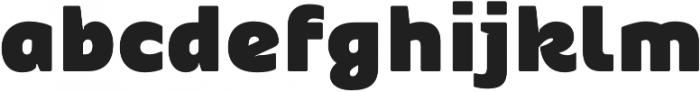 Blackye otf (900) Font LOWERCASE