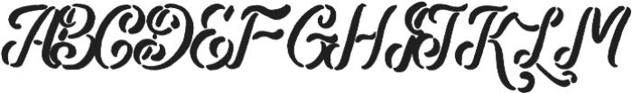 Bladekade otf (400) Font UPPERCASE