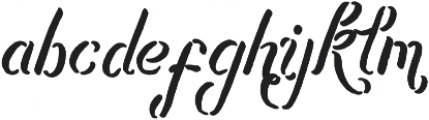Bladekade otf (400) Font LOWERCASE