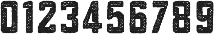 Blakstone Halftone Three otf (400) Font OTHER CHARS
