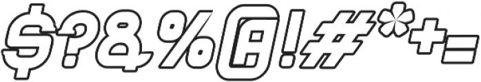 Blame Serif 2 Outline ttf (400) Font OTHER CHARS