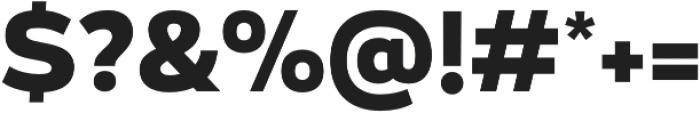 Blanc Bold otf (700) Font OTHER CHARS