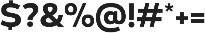 Blanc Semibold otf (600) Font OTHER CHARS
