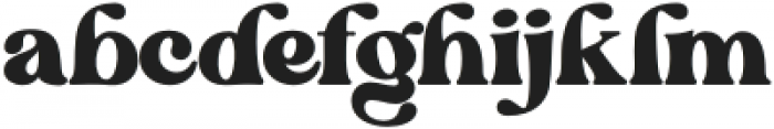 BlanchSage-Bold otf (700) Font LOWERCASE