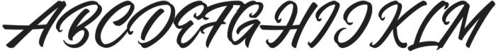 Blandes otf (400) Font UPPERCASE