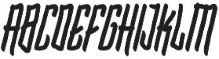 Blarrack Hand otf (800) Font UPPERCASE