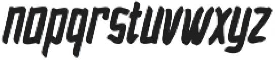 Blarrack Hand otf (800) Font LOWERCASE