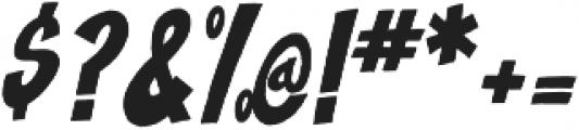 Blast Off ttf (400) Font OTHER CHARS