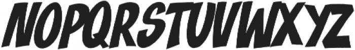 Blast Off ttf (400) Font UPPERCASE
