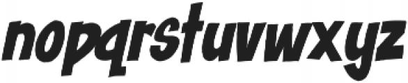 Blast Off ttf (400) Font LOWERCASE