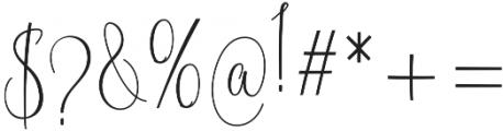 Blastamino otf (400) Font OTHER CHARS