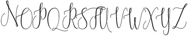 Blastamino otf (400) Font UPPERCASE