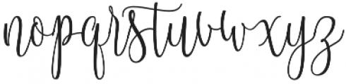 Blastamino otf (400) Font LOWERCASE