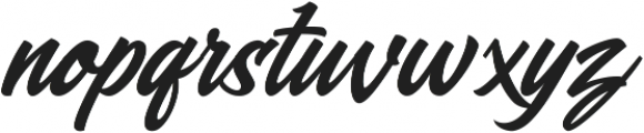 Blasteran otf (400) Font LOWERCASE