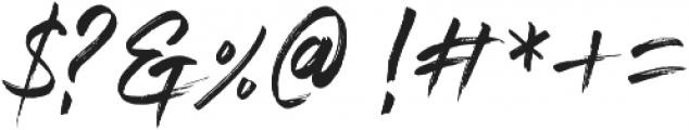 Blastimo otf (400) Font OTHER CHARS