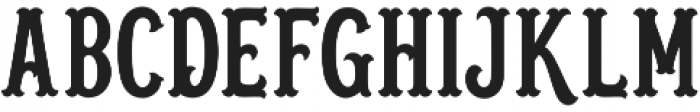 Blastrick Normal otf (400) Font UPPERCASE