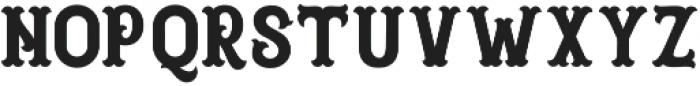 Blastrick Normal otf (400) Font LOWERCASE